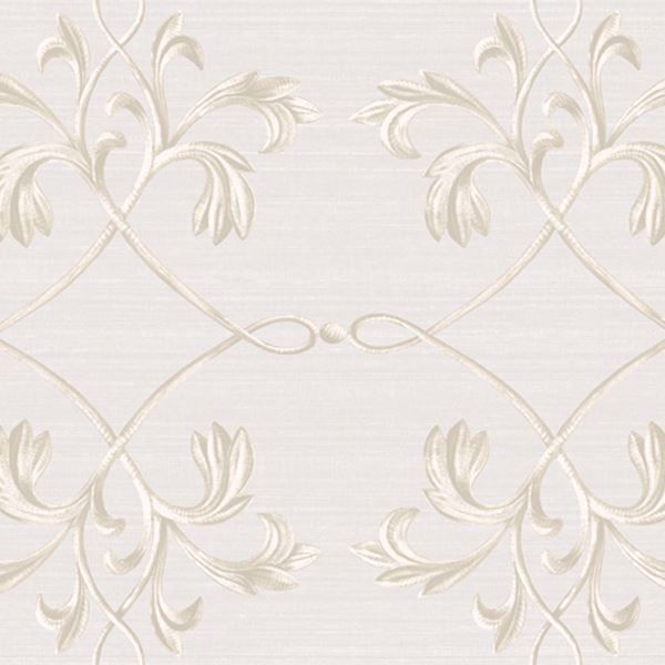 April Light Grey Acanthus Lattice