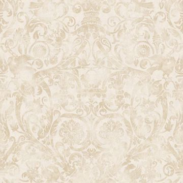 Bali Brown Damask