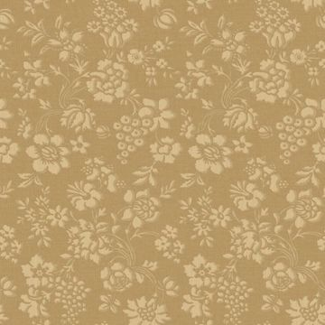 Stria Gold Floral Toss