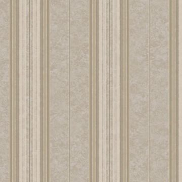 Poppy Grey Baroque Stripe