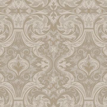 Guinevere Grey Baroque Marquetry