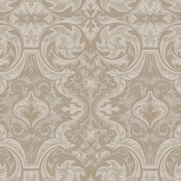 Guinevere Grey Baroque Marquetry