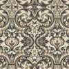 Guinevere Black Baroque Marquetry