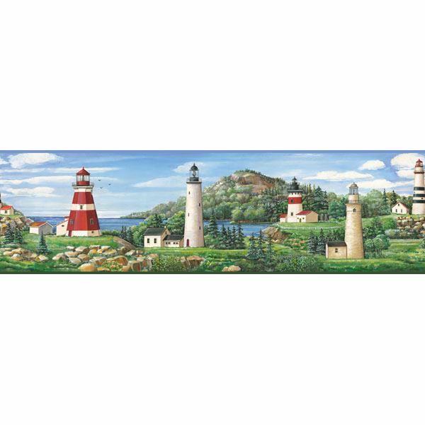 Green Lake Lighthouse Border