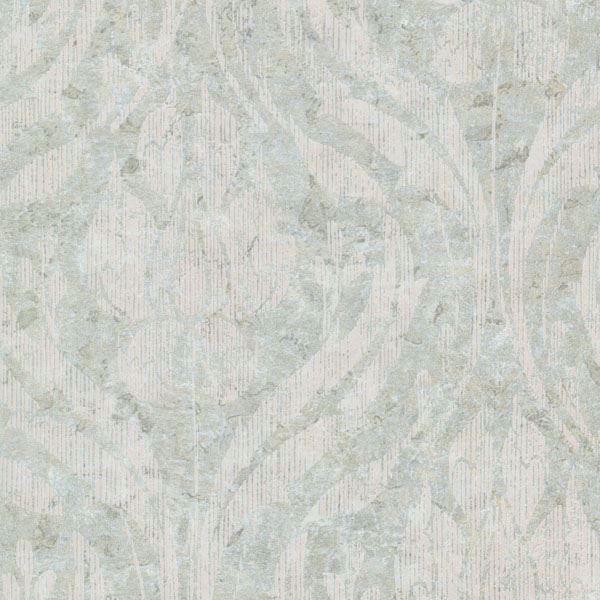 Carrara  Light Green Textured Damask