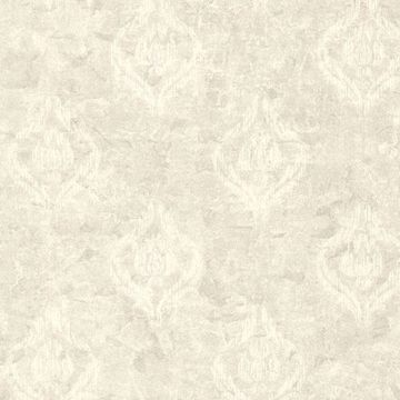 Benza Light Grey Small Textured Damask