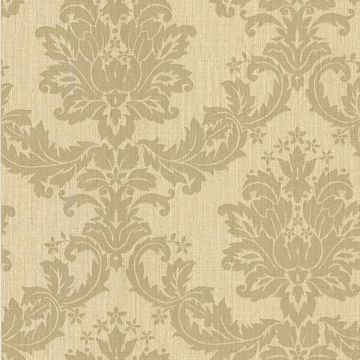 Everest Beige Woven Damask