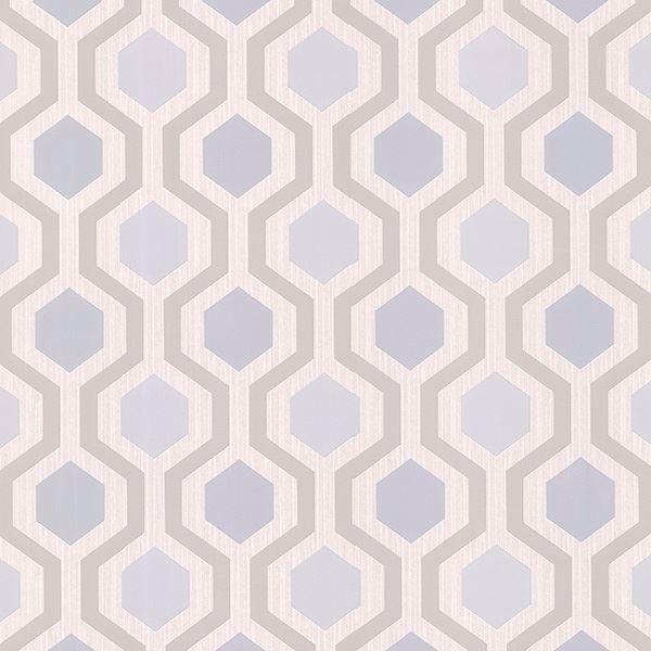 Marina Grey Modern Geometric
