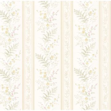 Bell Beige Wildflower Stripe