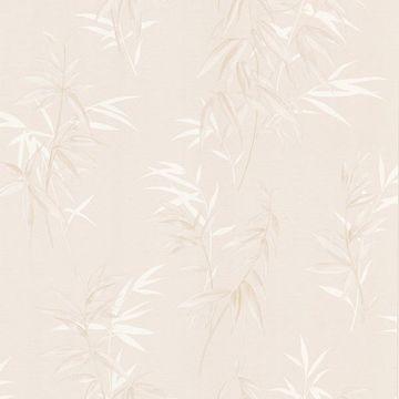 Oates Beige Bamboo Leaf Texture