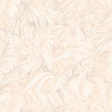 Raven Beige Palm Tree Leaf Texture
