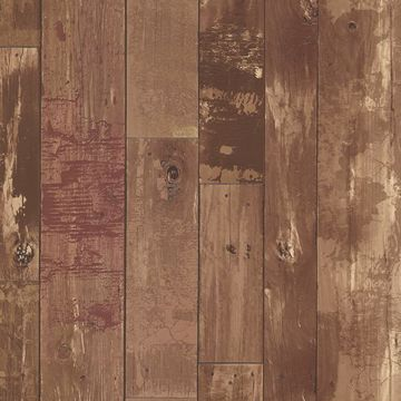 Heim Brown Distressed Wood Panel