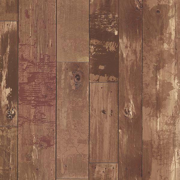 Heim Brown Distressed Wood Panel