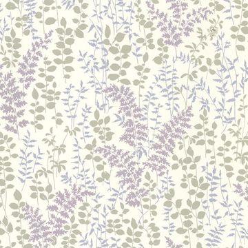 Dixon Purple Forest Leaves