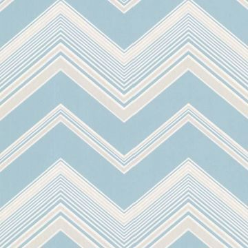 Bearden Light Blue Zig Zag