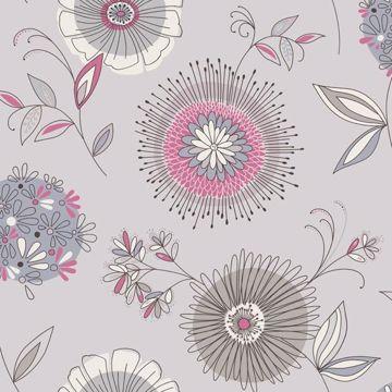 Maisie Blue Floral Burst