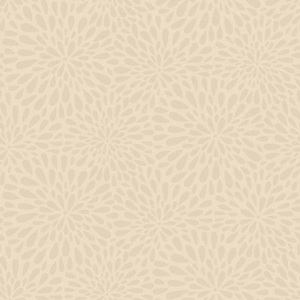 Calendula Grey Modern Floral
