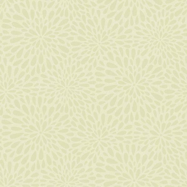 Calendula Green Modern Floral