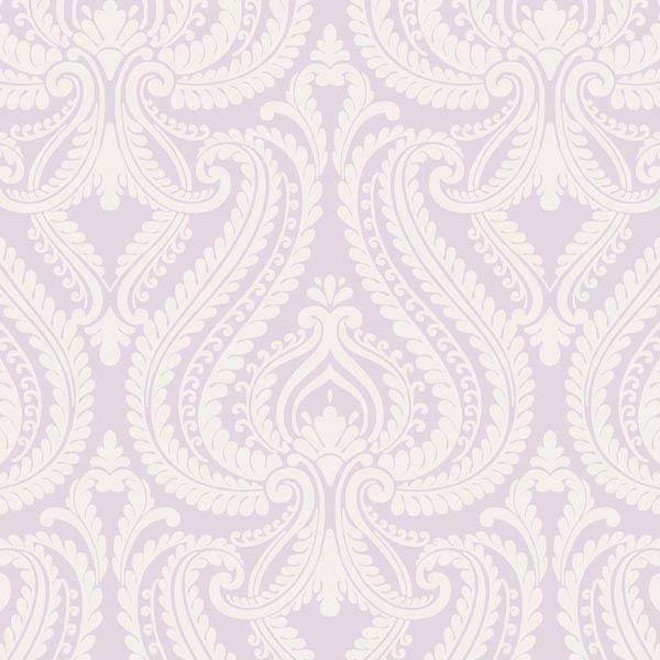 Imperial Lavender Modern Damask