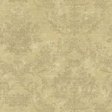 Kali Brown Floral Damask