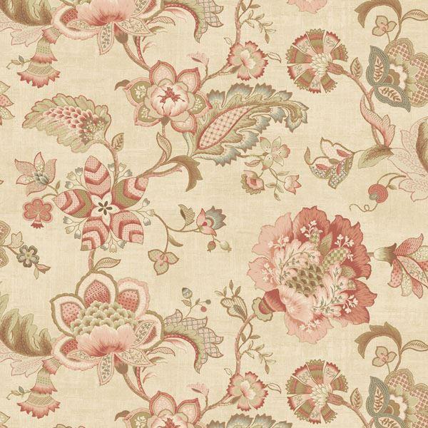 Namaste Pink Jacobean Floral
