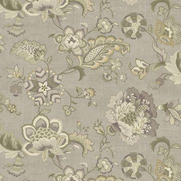 Namaste Grey Jacobean Floral