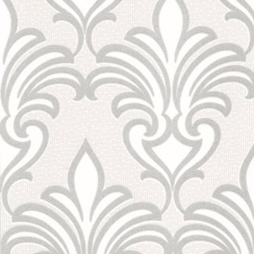 Arras Grey New Damask