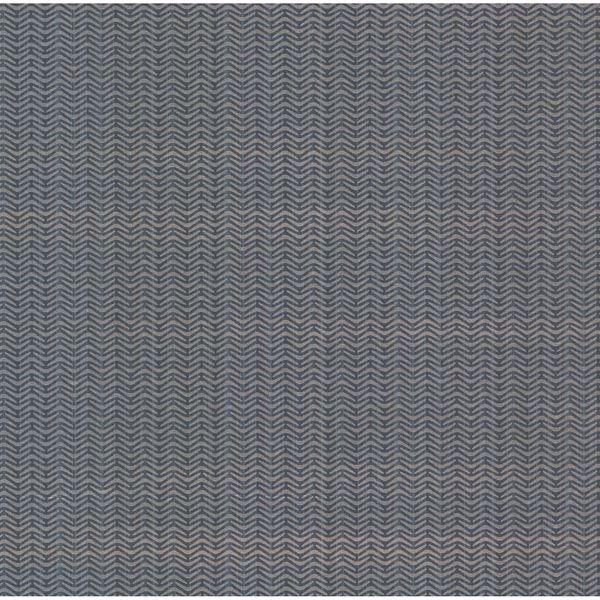 Anzac Blue Abstract Herringbone Texture