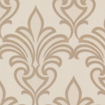 Arras Beige New Damask
