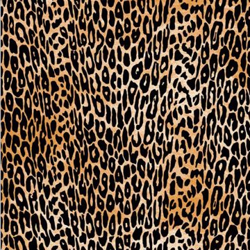 Cheetah Flock Adhesive Film