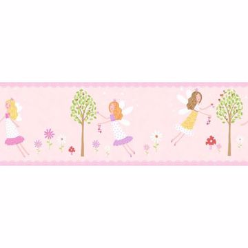 Fairy Garden Peel and Stick Border