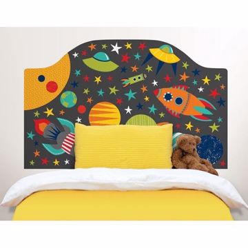 Blast Off Twin Headboard