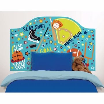 Junior Varsity Twin Headboard