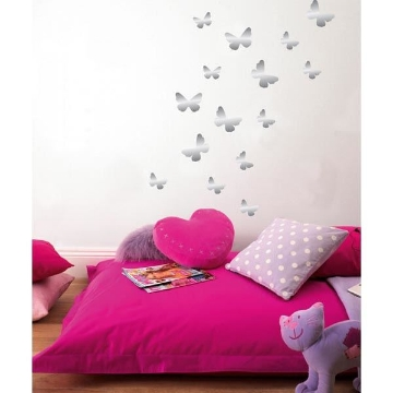 Butterfly Foil Wall Stickers