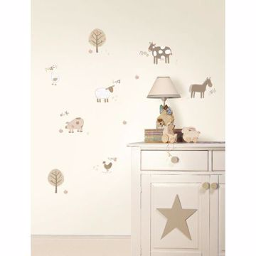Farm Neutral Wall Stickers