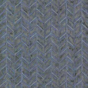 Foothills Blue Herringbone Texture
