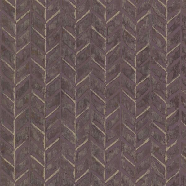 Foothills Purple Herringbone Texture