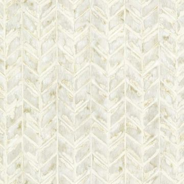 Foothills Cream Herringbone Texture