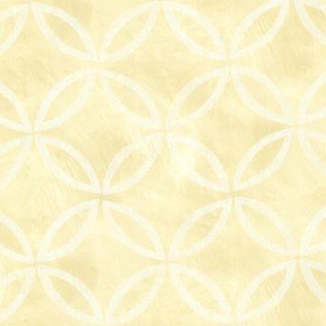 Cloverleaf Yellow Geometric