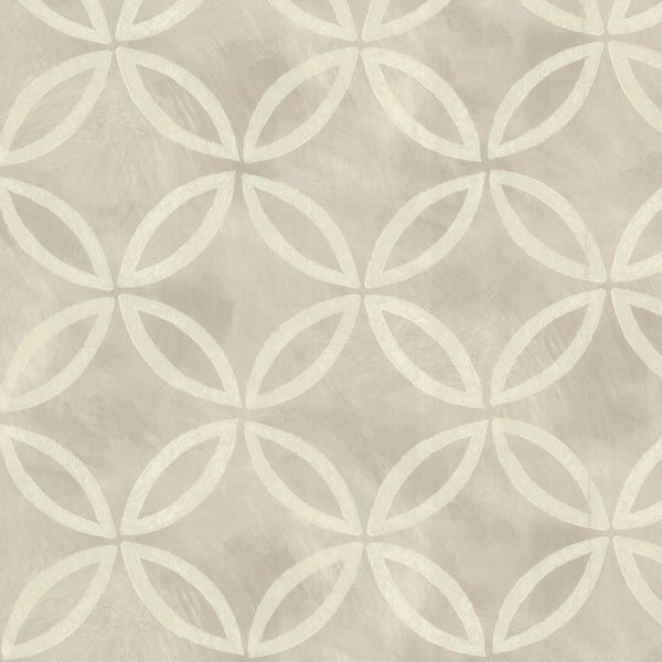 Cloverleaf Grey Geometric