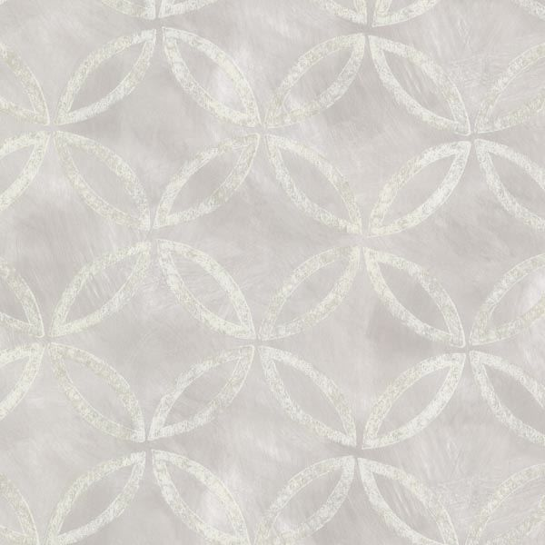 Cloverleaf Silver Geometric