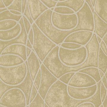 Novia Beige Geometric Swirl