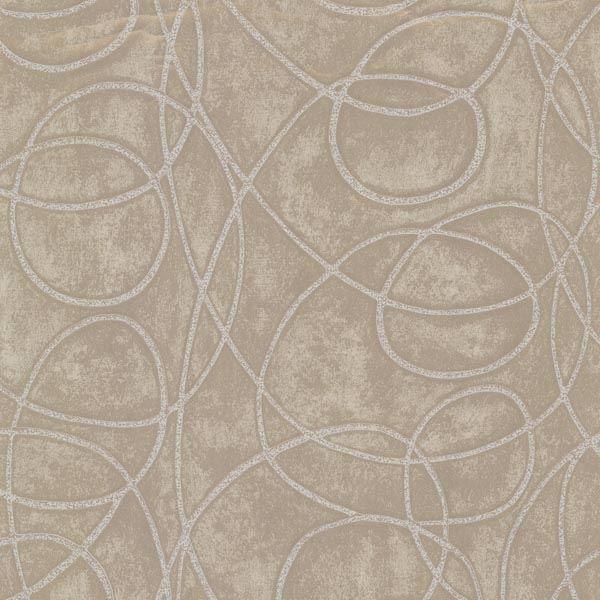 Novia Grey Geometric Swirl