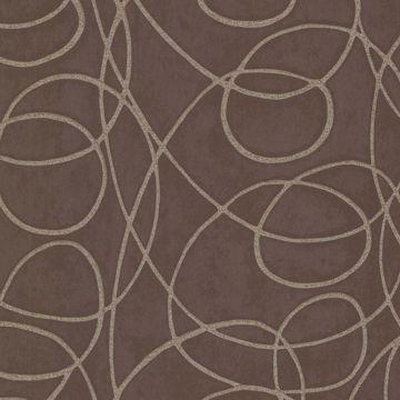 Novia Espresso Geometric Swirl