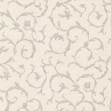 Clover Blue Acanthus Scroll