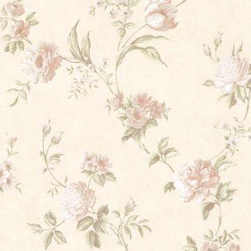 Laetetia Peach Floral Trail