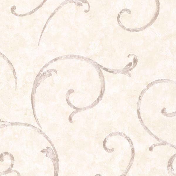 Emilie Grey Scroll