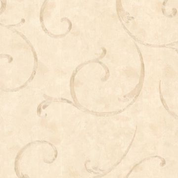Emilie Beige Scroll