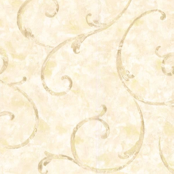Emilie Cream Scroll
