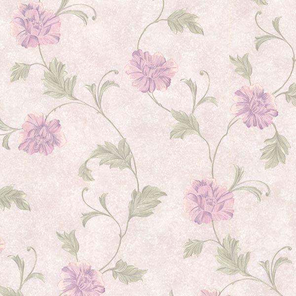 Louise Lavender Vintage Floral Trail